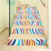 Buy colorful Stripes Style Stair Sticker Wall Decor MIX COLOR