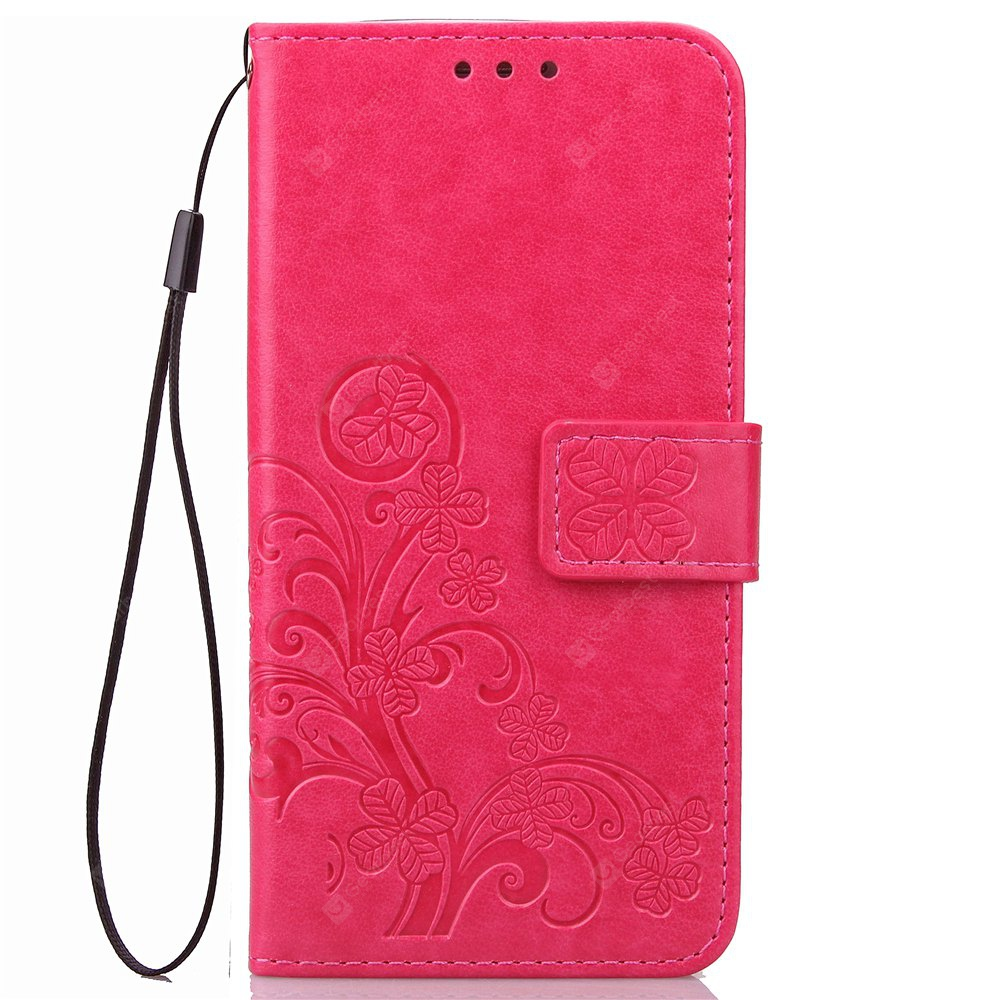 Yc Lucky Clover Holster Leaf Card Lanyard Pu Leather for Xiaomi Max