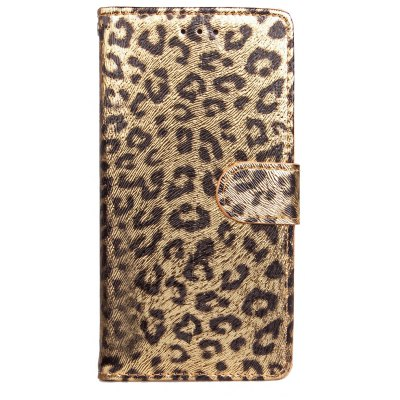 Yc Leopard Print Card Lanyard Pu Leather pour Samsung S8