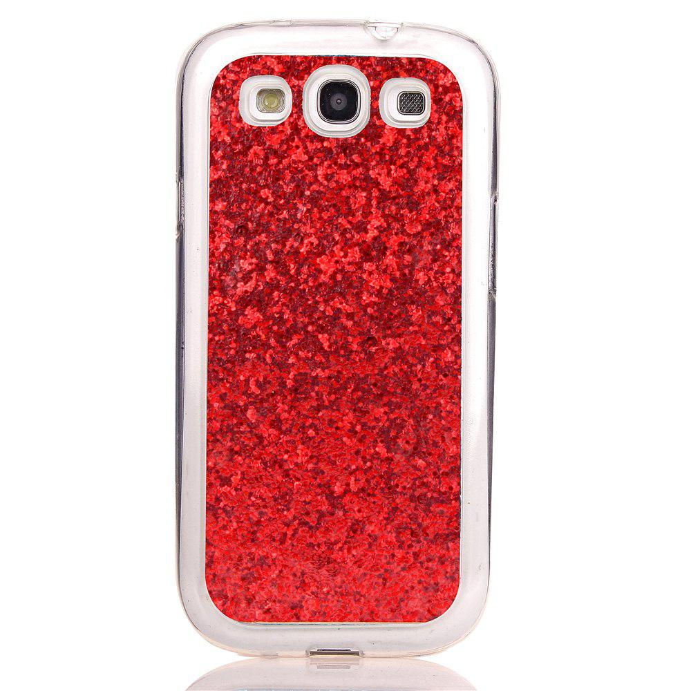 Yc Powder Coated Leather All Wrapped Tpu Mobile Phone Case for Samsung 9300