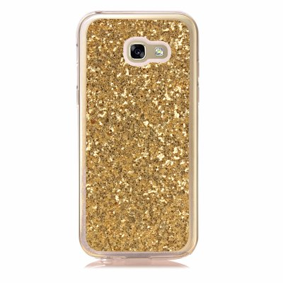 Yc Powder Coated Leather All Wrapped Tpu Mobile Phone Case for Samsung A320