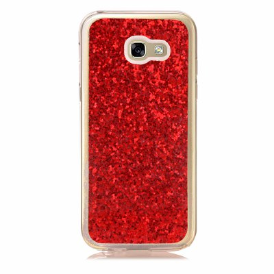 Yc Powder Coated Leather All Wrapped Tpu Mobile Phone Case for Samsung A520