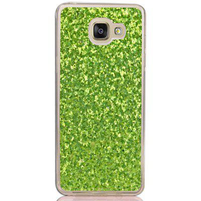 Yc Powder Coated Leather All Wrapped Tpu Mobile Phone Case for Samsung A310