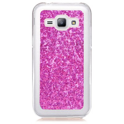 Yc Powder Coated Leather All Wrapped Tpu Mobile Phone Case for Samsung J1