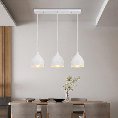 Everflower Modern E27 220 - 240V Pendant Lamp White