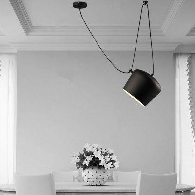 Everflower Modern E27 220 - 240V Pendant Light Black