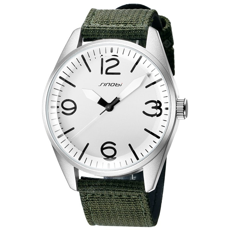 Sinobi S9606g 4125 Fashion Trend Personality Casual Mens Watch with Box