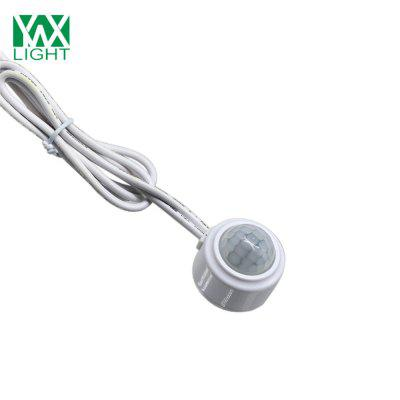 Ywxlight Human Body Infrared Motion Pir Light Control Switch for Led StripLED Accessories<br>Ywxlight Human Body Infrared Motion Pir Light Control Switch for Led Strip<br><br>Accessory type: Switch<br>Color: White<br>Material: PC<br>Package Contents: 1 x Ywxlight Pir Light Control Switch<br>Package size (L x W x H): 9.00 x 5.50 x 3.50 cm / 3.54 x 2.17 x 1.38 inches<br>Package weight: 0.0430 kg<br>Product size (L x W x H): 3.20 x 3.20 x 3.20 cm / 1.26 x 1.26 x 1.26 inches<br>Product weight: 0.0400 kg