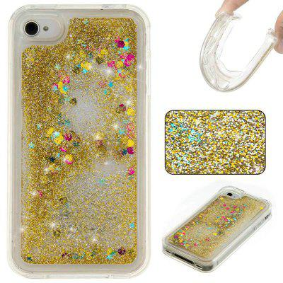 Pure Color Tpu Quicksand Phone Case for Iphone 4 4S