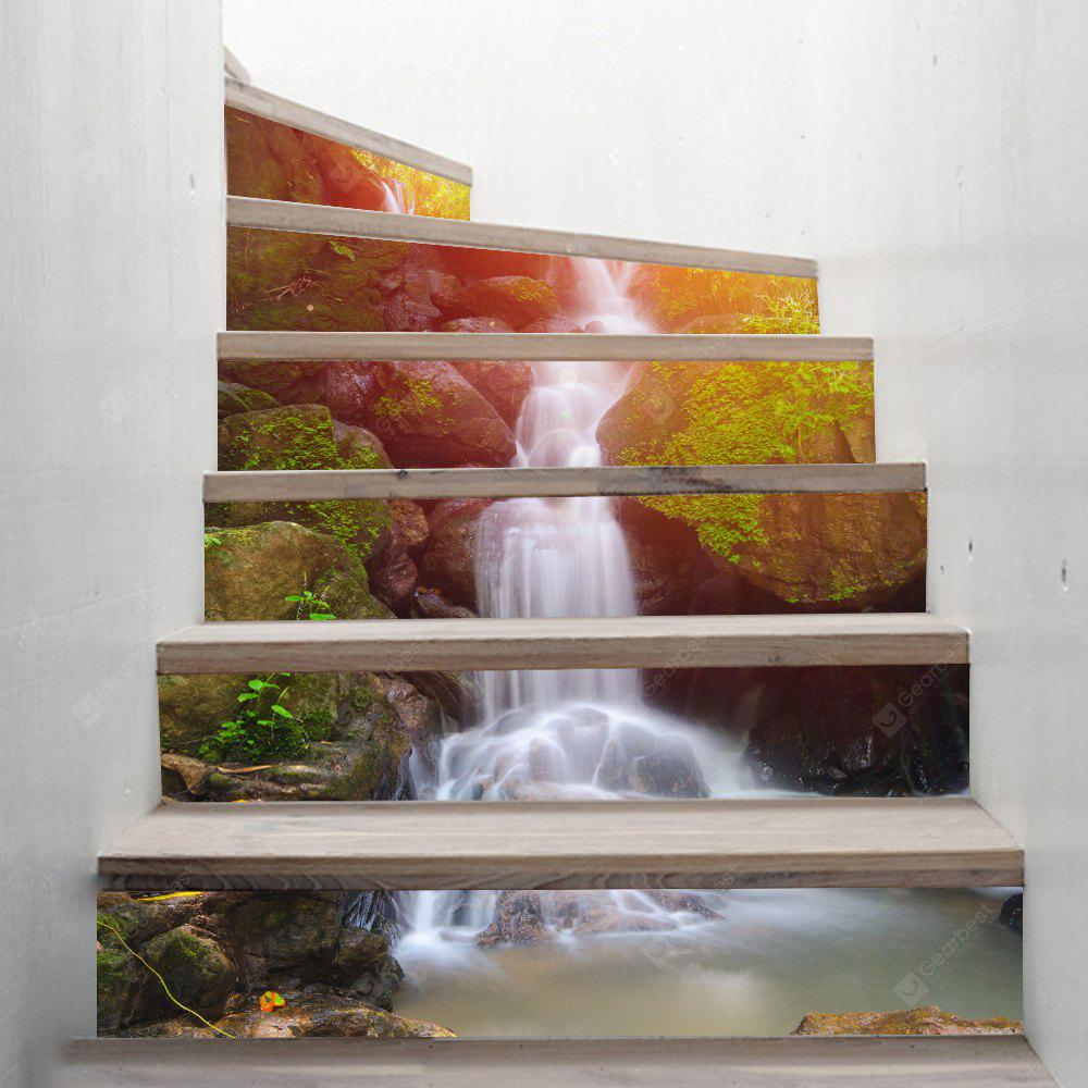 Waterfall Style Stair Sticker Wall Decor