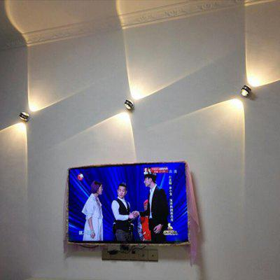 LedTey 3W Double Crystal 100-240V Wall LampWall Lights<br>LedTey 3W Double Crystal 100-240V Wall Lamp<br><br>Bulb Included: Yes<br>CCT/Wavelength: 2700-3300K<br>Illumination Field (sq.m.): Bedside Bedroom Living Room Creative Background Wall Lamp Corridor Light<br>Input Voltage: AC100-240<br>Optional Light Color: Warm White<br>Package Contents: 1 x Light<br>Package size (L x W x H): 11.50 x 11.50 x 9.00 cm / 4.53 x 4.53 x 3.54 inches<br>Package weight: 0.3850 kg<br>Shade Material: PVC<br>Type: Wall Light