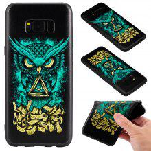 3D Embossed Color Pattern TPU Soft Back Case for Samsung Galaxy S8 Plus