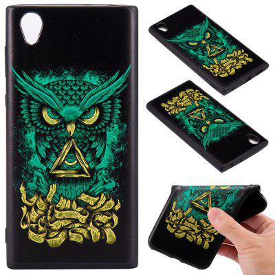 3D geprägtes Farbmuster TPU Soft Back Case für Sony Xperia L1