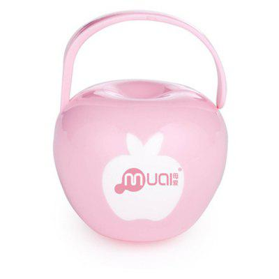 Small Apple Portable Mouth Pacifier Box Without A Pacifier
