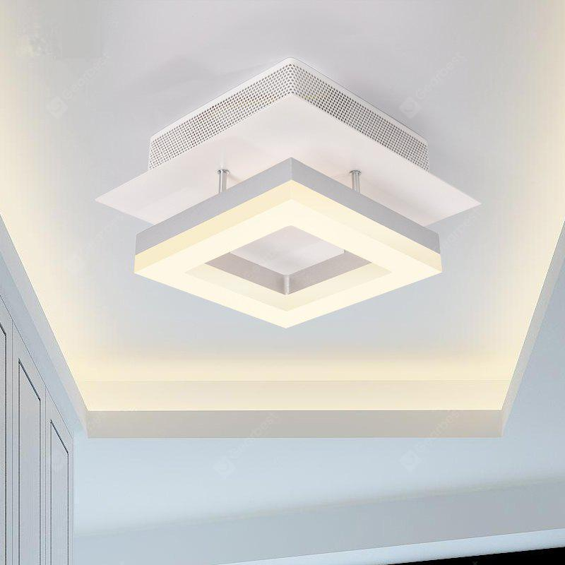 Ever flower modern simple led ceiling light fixture mount with ever flower modern simple led ceiling light fixture mount with warm white painted finish mozeypictures Gallery