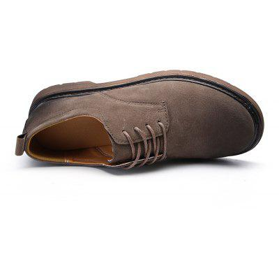 Wild Low To Help Martin Shoes Retro Casual ShoesFormal Shoes<br>Wild Low To Help Martin Shoes Retro Casual Shoes<br><br>Available Size: 39-44<br>Closure Type: Lace-Up<br>Embellishment: None<br>Gender: For Men<br>Occasion: Casual<br>Outsole Material: Rubber<br>Package Contents: 1xShoes(pair)<br>Pattern Type: Solid<br>Season: Spring/Fall<br>Toe Shape: Round Toe<br>Toe Style: Closed Toe<br>Upper Material: Leather<br>Weight: 1.5488kg
