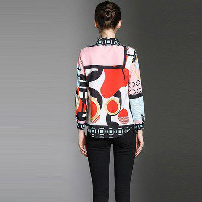 Fashion Wild Lapel Long Sleeves ShirtBlouses<br>Fashion Wild Lapel Long Sleeves Shirt<br><br>Collar: Turn-down Collar<br>Elasticity: Nonelastic<br>Fabric Type: Chiffon<br>Material: Chiffon<br>Package Contents: 1 x Shirt<br>Pattern Type: Print<br>Shirt Length: Regular<br>Sleeve Length: Full<br>Style: Formal<br>Weight: 0.3000kg