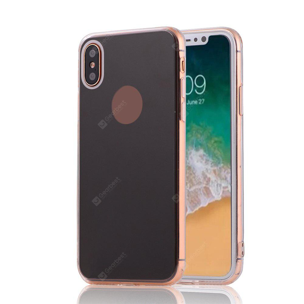 Slim Thin Protective Tpu Pc Mirror Back Case for iPhone X
