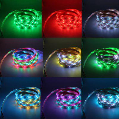 Ywxlight 5M 5050 SMD LED Strip Light RGB Full Color Flexible Tape Non-Waterproof DC 12VLED Strips<br>Ywxlight 5M 5050 SMD LED Strip Light RGB Full Color Flexible Tape Non-Waterproof DC 12V<br><br>Actual Lumens: 7100 - 7200 LM<br>Brand: YWXLight<br>Features: Flexible, IP-20, Low Power Consumption<br>Input Voltage: DC 12V<br>LED Type: SMD-5050<br>Length: 5M<br>Material: PCB<br>Number of LEDs: 300 LED<br>Optional Light Color: RGB<br>Package Contents: 1 x Ywxlight 5M 5050 Led Strip<br>Package size (L x W x H): 13.50 x 13.50 x 1.50 cm / 5.31 x 5.31 x 0.59 inches<br>Package weight: 0.0980 kg<br>Product size (L x W x H): 500.00 x 1.00 x 1.00 cm / 196.85 x 0.39 x 0.39 inches<br>Product weight: 0.0930 kg<br>Rated Power (W): 72 W<br>Type: LED Strip<br>Waterproof: No
