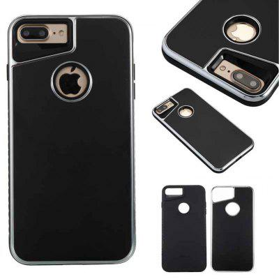 Two-In-One Tpu + Aluminum Alloy Plating Scrub Phone Case for Iphone 7PLUS iphone 8PLUS