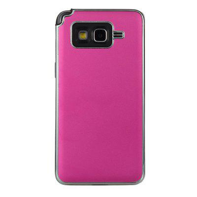 Two-In-One Tpu + Aluminum Alloy Plating Scrub Phone Case for Samsung Galaxy Grand Prime G530others<br>Two-In-One Tpu + Aluminum Alloy Plating Scrub Phone Case for Samsung Galaxy Grand Prime G530<br><br>Color: Rose Gold,Silver,Red,Blue,Gold,Rose Madder<br>Features: Back Cover, Dirt-resistant<br>For: Samsung Mobile Phone<br>Functions: Camera Hole Location<br>Material: Aluminium Alloy, TPU<br>Package Contents: 1 x Phone Case<br>Package size (L x W x H): 14.90 x 7.40 x 1.20 cm / 5.87 x 2.91 x 0.47 inches<br>Package weight: 0.0510 kg<br>Style: Solid Color<br>Using Conditions: Skiing,Cruise