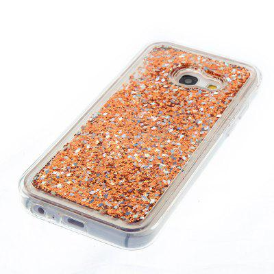 All Soft Tpu Quicksand Phone Case for Samsung Galaxy A3 2017All Soft Tpu Quicksand Phone Case for Samsung Galaxy A3 2017<br><br>Features: Back Cover<br>For: Samsung Mobile Phone<br>Material: TPU<br>Package Contents: 1 x Phone Case<br>Package size (L x W x H): 13.50 x 7.00 x 1.20 cm / 5.31 x 2.76 x 0.47 inches<br>Package weight: 0.0450 kg<br>Style: Novelty