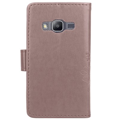 Yc Lucky Clover Holster Leaf Card Lanyard Pu Leather Case for Samsung J1 Mini PrimeYc Lucky Clover Holster Leaf Card Lanyard Pu Leather Case for Samsung J1 Mini Prime<br><br>Color: Black,Blue,Purple,Brown,Gray,Rose Madder<br>Compatible with: SAMSUNG<br>Features: Full Body Cases, With Credit Card Holder, With Lanyard, Anti-knock<br>For: Samsung Mobile Phone<br>Material: PU Leather, TPU<br>Package Contents: 1 x Case<br>Package size (L x W x H): 14.00 x 8.00 x 2.00 cm / 5.51 x 3.15 x 0.79 inches<br>Package weight: 0.0500 kg<br>Product size (L x W x H): 13.00 x 7.20 x 1.50 cm / 5.12 x 2.83 x 0.59 inches<br>Product weight: 0.0490 kg<br>Style: Cute, Solid Color, Vintage/Nostalgic Euramerican Style, Novelty, Vintage