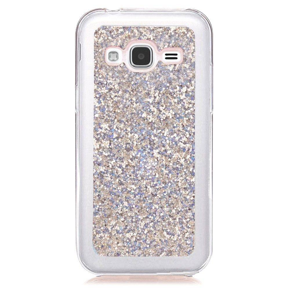 Yc Powder Coated Leather All Wrapped Tpu Mobile Phone Case for Samsung J3