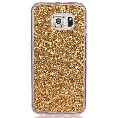 Yc Powder Coated Leather All Wrapped Tpu Mobile Phone Case for Samsung S6
