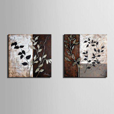 Yc Special Design Frameless Paintings Leaf of 2Prints<br>Yc Special Design Frameless Paintings Leaf of 2<br><br>Craft: Print<br>Form: Two Panels<br>Material: Canvas<br>Package Contents: 2 x Print<br>Package size (L x W x H): 45.00 x 45.00 x 5.00 cm / 17.72 x 17.72 x 1.97 inches<br>Package weight: 1.2000 kg<br>Painting: Include Inner Frame<br>Product weight: 1.1000 kg<br>Shape: Horizontal Panoramic<br>Style: Vintage, Fashion, Casual, Active<br>Subjects: Botanical<br>Suitable Space: Indoor,Garden,Living Room,Bathroom,Bedroom,Dining Room,Office,Hotel,Cafes,Kids Room,Kids Room,Study Room / Office,Boys Room,Girls Room,Game Room