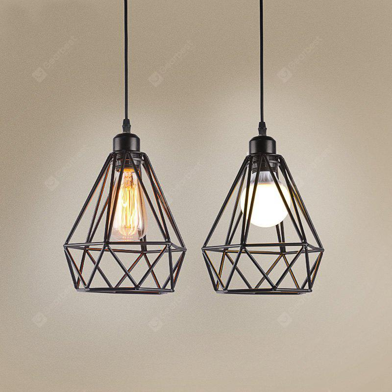 BLACK CXYLight Modern American Style Retro Village Iron Pendant Light for Decoration Dd 010 AC 110 120V