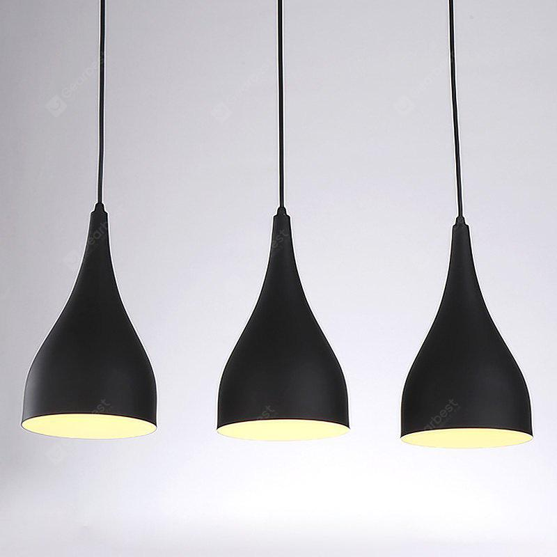BLACK CXYLight Modern American Style Retro Village Iron Pendant Lighting Restaurant Kitchen Living Room Coffee Shop Lamp Dd 021 AC 110 120V