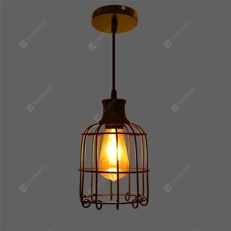 BLACK CXYLight Modern American Style Retro Village Iron Pendant Lighting Restaurant Kitchen Living Room Coffee Shop Lamp Dd 027 AC 110 120V