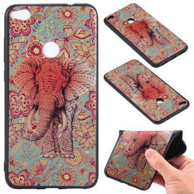 Buy 3D Embossed Color Pattern TPU Soft Back Case for Huawei P8 Lite 2017, RED AND GREEN, Mobile Phones, Cell Phone Accessories, Cases & Leather for $3.62 in GearBest store