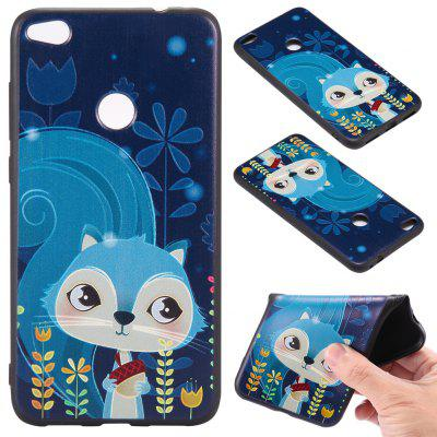 Buy 3D Embossed Color Pattern TPU Soft Back Case for Huawei P8 Lite 2017, BLUE, Mobile Phones, Cell Phone Accessories, Cases & Leather for $3.62 in GearBest store
