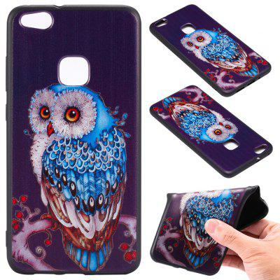 Buy 3D Embossed Color Pattern TPU Soft Back Case for Huawei P10 Lite, BLUE AND BLACK, Mobile Phones, Cell Phone Accessories, Cases & Leather for $3.62 in GearBest store
