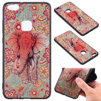 Buy 3D Embossed Color Pattern TPU Soft Back Case for Huawei P10 Lite, RED AND GREEN, Mobile Phones, Cell Phone Accessories, Cases & Leather for $3.62 in GearBest store