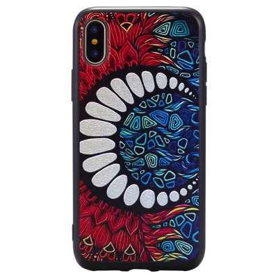3D Embossed Color Pattern TPU Soft Back Case for iPhone XiPhone Cases/Covers<br>3D Embossed Color Pattern TPU Soft Back Case for iPhone X<br><br>Features: Back Cover<br>Material: TPU<br>Package Contents: 1 x Soft Tpu Back Case<br>Package size (L x W x H): 10.00 x 10.00 x 5.00 cm / 3.94 x 3.94 x 1.97 inches<br>Package weight: 0.0500 kg<br>Product weight: 0.0200 kg<br>Style: Pattern