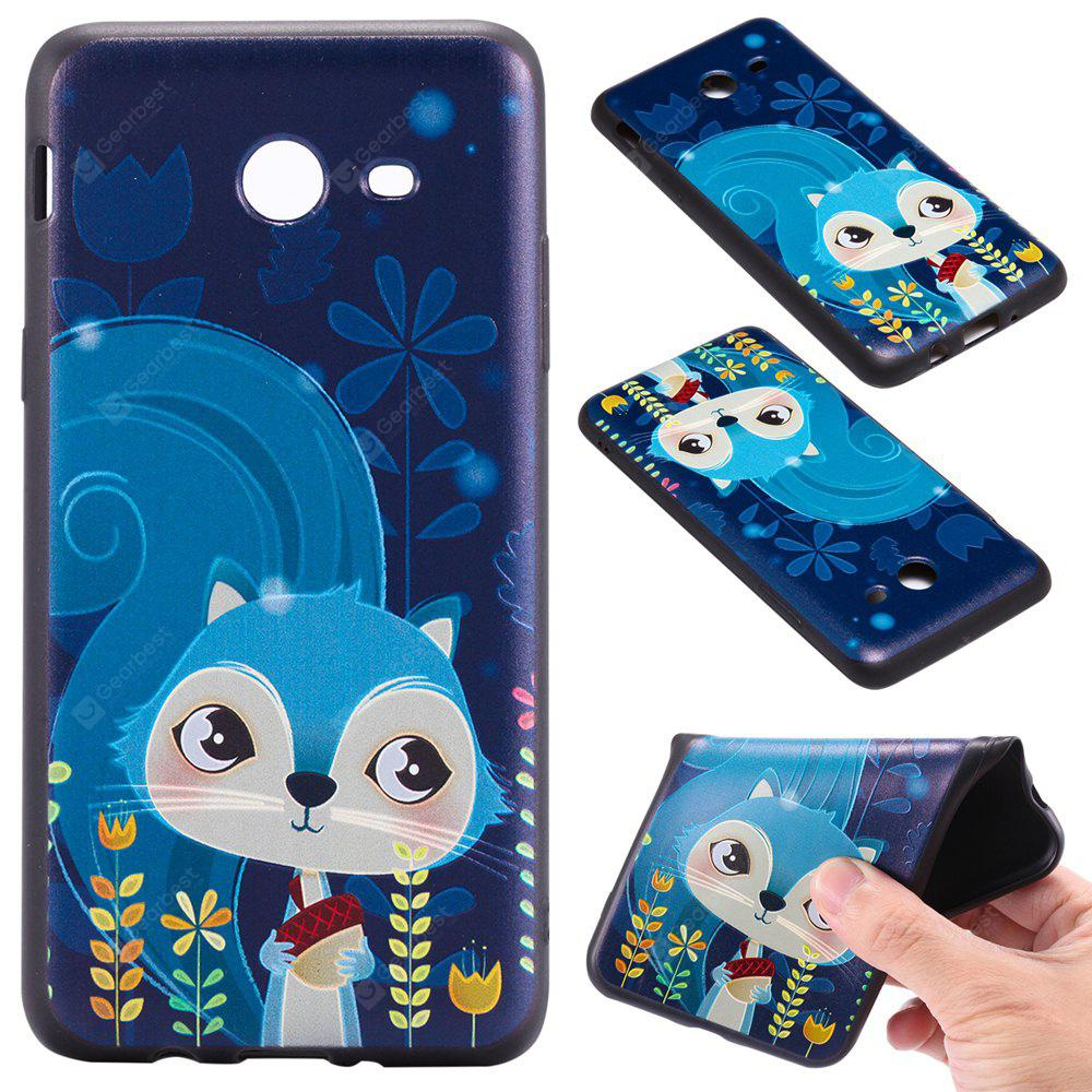 3D Embossed Color Pattern TPU Soft Back Case for Samsung Galaxy J5 2017 (America Edition)