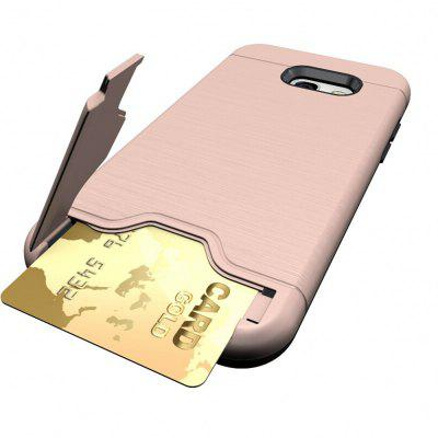 Shockproof Convenient One Card Slot Hard Back Case for Samsung Galaxy A5 2017