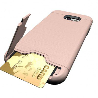 Shockproof Convenient One Card Slot Hard Back Case for Samsung Galaxy A7 2017