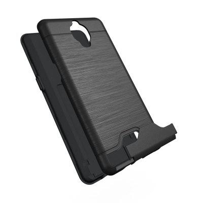Shockproof Convenient One Card Slot Hard Back Case for OnePlus 3TCases &amp; Leather<br>Shockproof Convenient One Card Slot Hard Back Case for OnePlus 3T<br><br>Package Contents: 1 x Shockproof Back Case<br>Package size (L x W x H): 10.00 x 10.00 x 5.00 cm / 3.94 x 3.94 x 1.97 inches<br>Package weight: 0.0500 kg<br>Product weight: 0.0300 kg