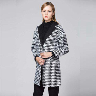 Suit Woolen Houndstooth BlazerBlazers<br>Suit Woolen Houndstooth Blazer<br><br>Closure Type: Single Button<br>Clothing Length: Regular<br>Embellishment: Pockets<br>Fit Type: Regular<br>Front Style: Flat<br>Hooded: No<br>Material: Cotton Blends<br>Package Contents: 1 x Blazer<br>Package size (L x W x H): 1.00 x 1.00 x 1.00 cm / 0.39 x 0.39 x 0.39 inches<br>Package weight: 0.9200 kg<br>Pattern Type: Plaid<br>Sleeve Length: Full<br>Type: Suits