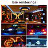 Kwb Led Strip Lights 2835 Smd 300LEDS 5M/ROOL White / Warm White / Red / Green / Blue - RED