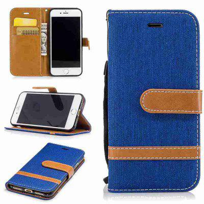 Fight Color Denim Pu Phone Case for Iphone 6 6S