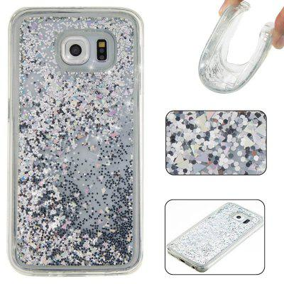Buy Solid Color Tpu Quicksand Phone Case for Samsung Galaxy S6, SILVER, Mobile Phones, Cell Phone Accessories, Samsung Accessories, Samsung S Series for $5.72 in GearBest store