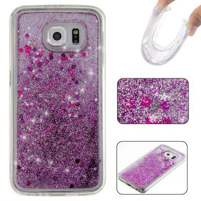Buy Solid Color Tpu Quicksand Phone Case for Samsung Galaxy S6, PURPLE, Mobile Phones, Cell Phone Accessories, Samsung Accessories, Samsung S Series for $5.74 in GearBest store