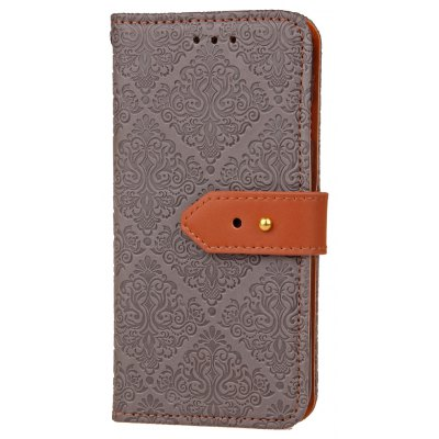 Buy Yc European Style Card Lanyard Pu Leather Case for Samsung S6, GRAY, Mobile Phones, Cell Phone Accessories, Samsung Accessories, Samsung S Series for $3.77 in GearBest store