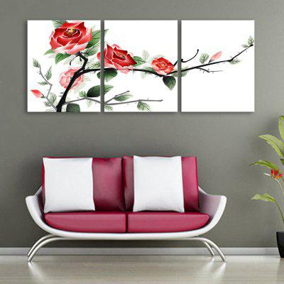 YC Special Design Peintures sans cadre Spray of Plum Blossoms