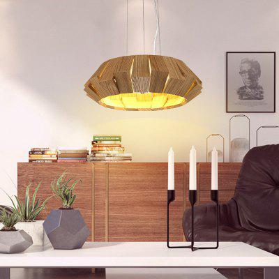 Buy WOOD Lanshi Solid Wood A Chandelier A Chandelier for $267.03 in GearBest store